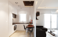 Small living room and kitchen design combo ideas | Small ...