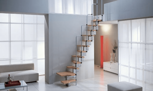 Building Stairways For Small Spaces Small House Design   Stairway Designs For Small Spaces   Home Side Wall   Storage   Decorative   Straight   First Floor Step