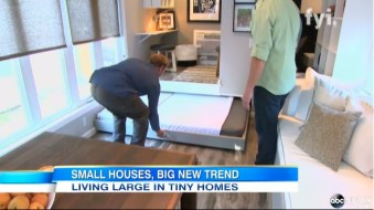 Abc News Video Inside The Tiny House Movement Sweeping