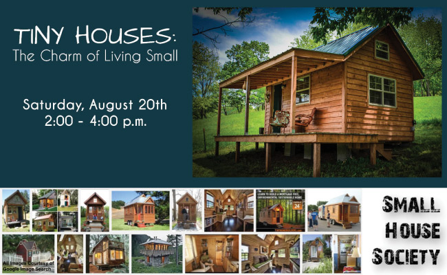 Event The Charm Of Living Small On 20 August 2016 Small