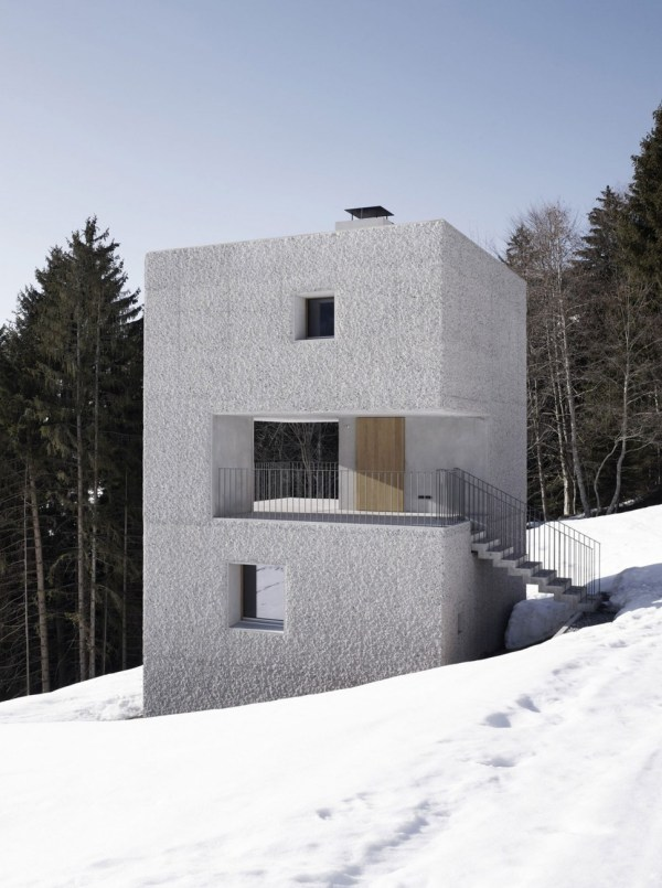 Small Concrete Cabins