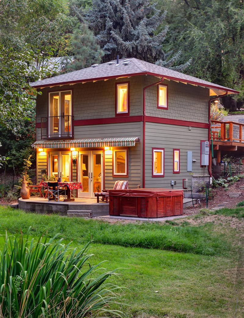 Roca residence in ashland oregon a cottage dream for Home plans oregon