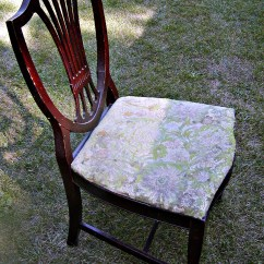 Desk Chair Seat Covers Your Shield Back Makeover | Small House Under A Big Sky