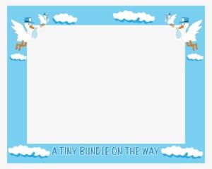 Free Baby Shower Frames Borders Amtframe Org