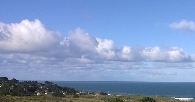 Clouds Over the Pacific Ocean Montara CA