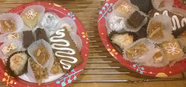 Christmas Cookie Day Platters
