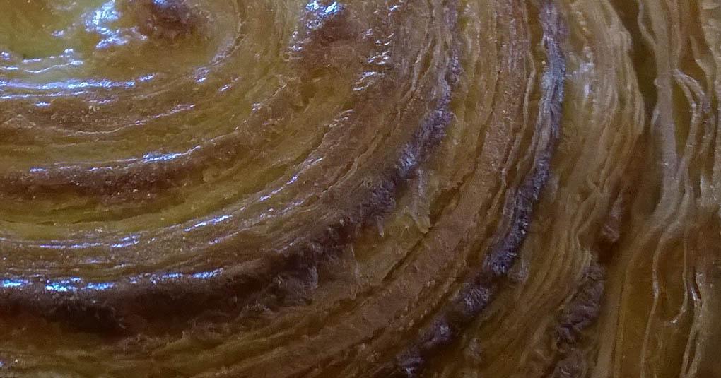 Pastry Swirl Mezza Luna Caffe Half Moon Bay CA