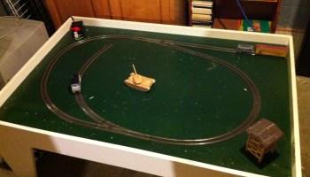 A Helix in Foam Core – Small Model Railroads