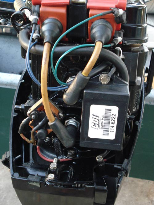 Mercury Tachometer Wiring Diagram Mercury 7 5 Outboard Question