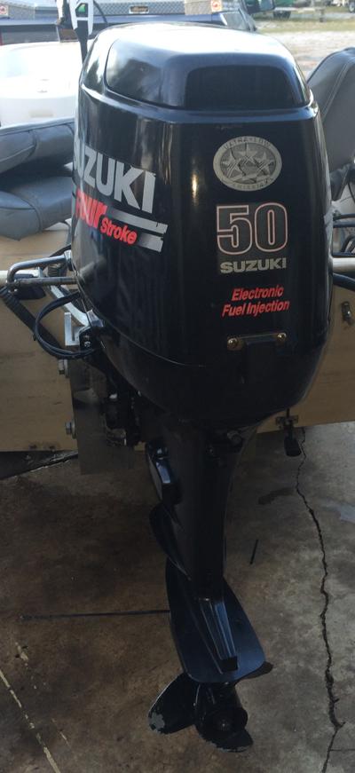 Suzuki 50 hp 4-Stroke Outboard Boat Motor For Sale