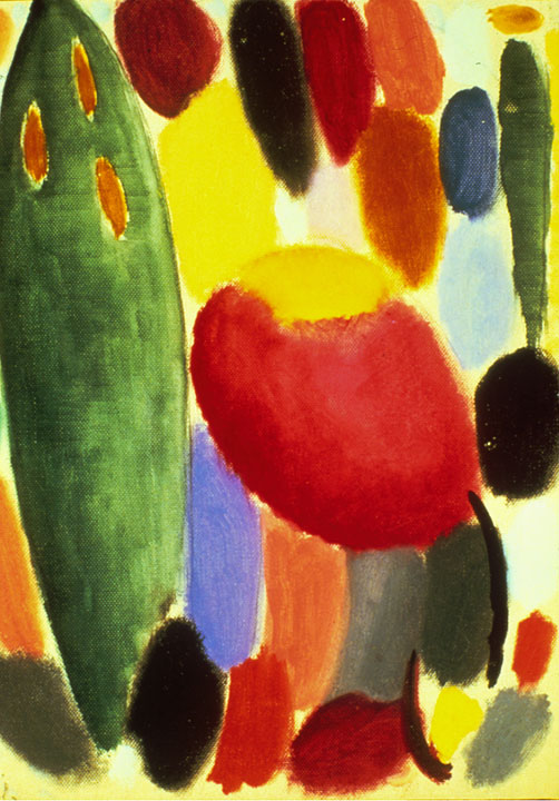 Chords in Reflection, 1917 by Alexej Jawlensky. © 2018 Long Beach Museum of Art.