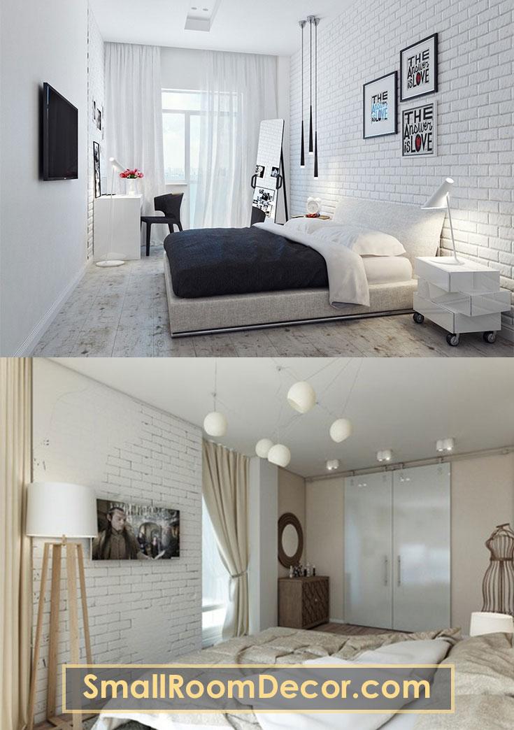 Small Space Minimalist Small Bedroom Decor Novocom Top