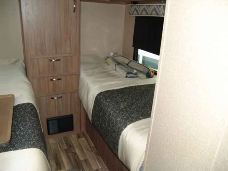 6 Small RVs With The Twin Bed Floor-Plans