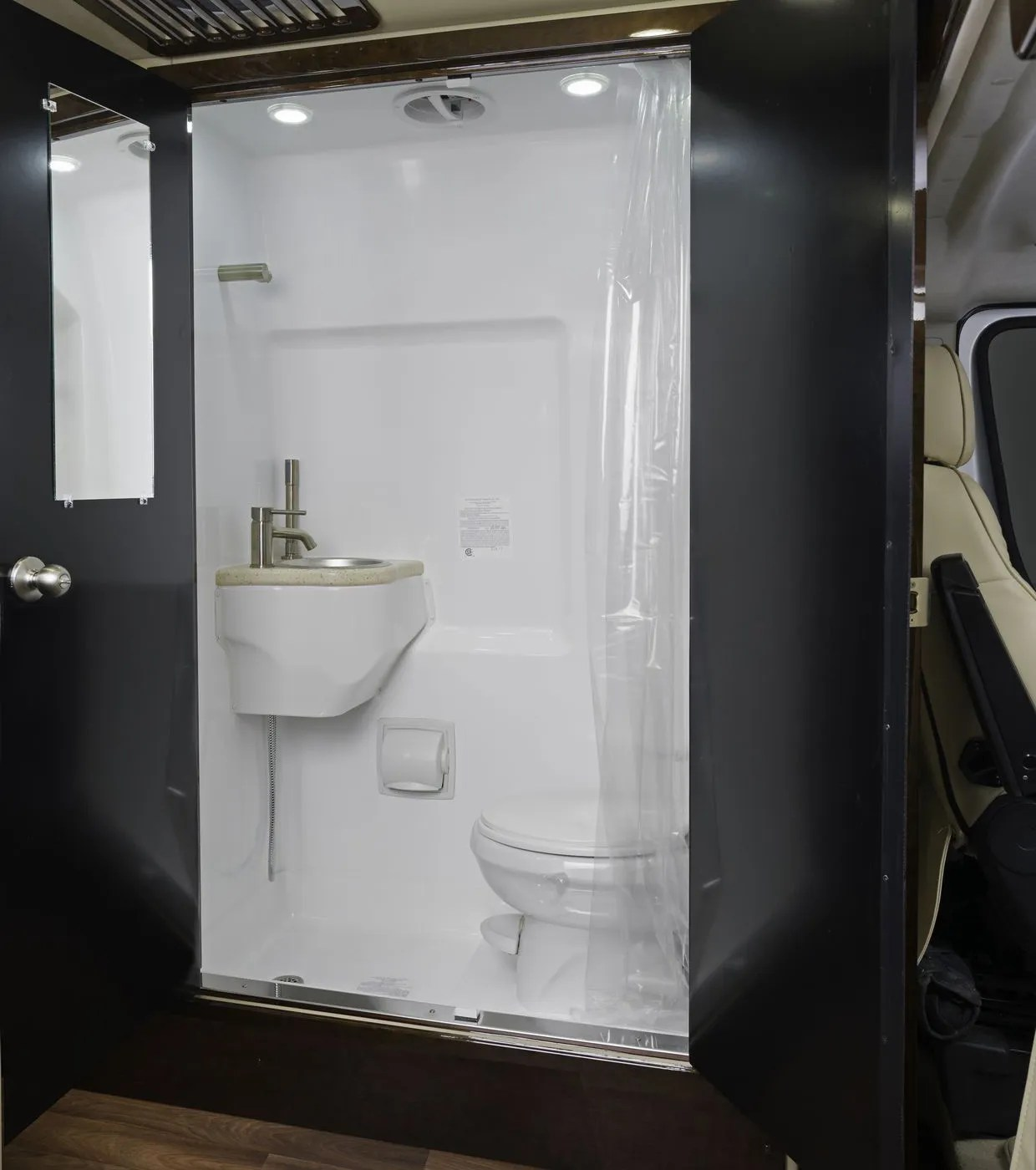 the smallest rvs with shower and toilet