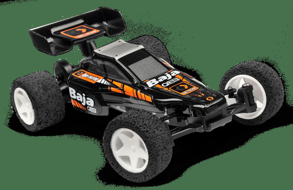 Blast away boredom with HPI's new 1/32 scale Q32 Baja.