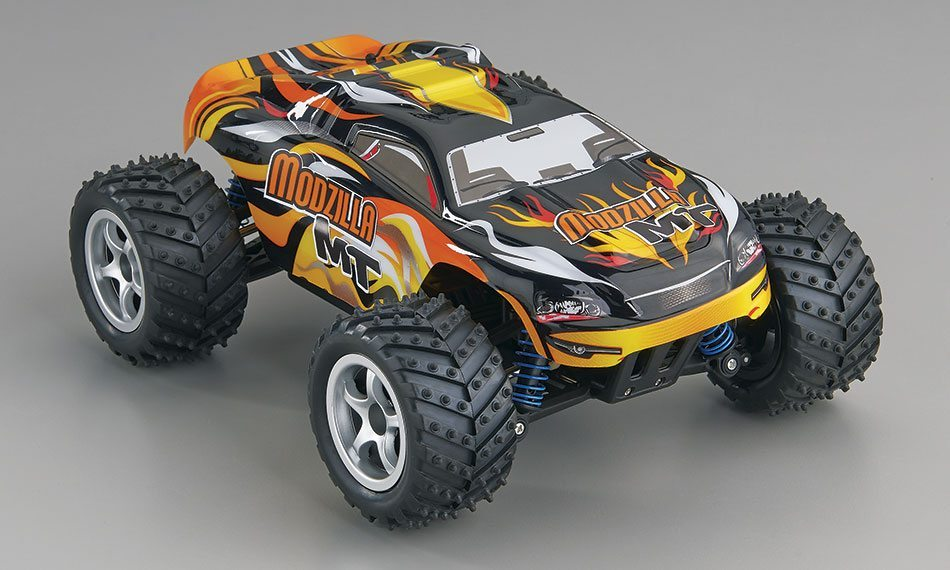 New to RC? Revell's New Modzilla 1/18 Monster Truck Will Get You Running, Fast!