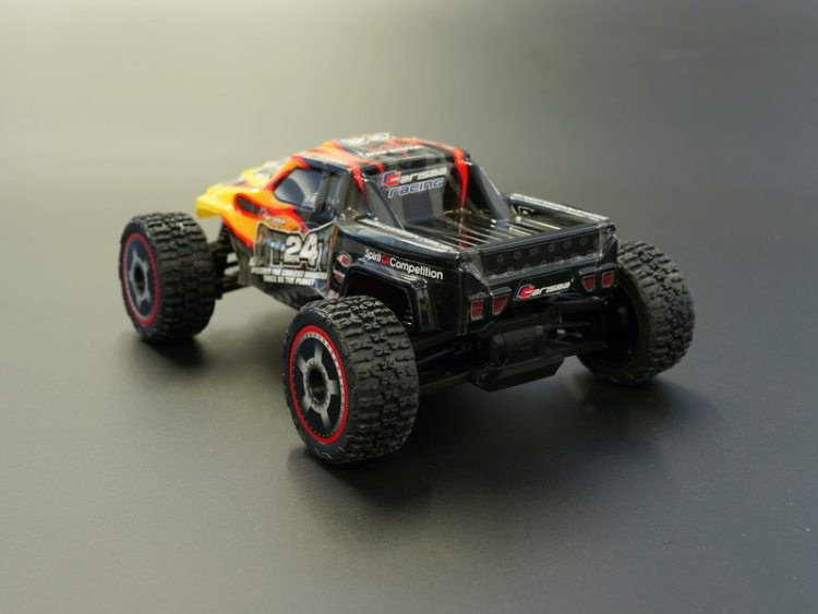 Carisma GT24T Micro Monster Truck - Rear