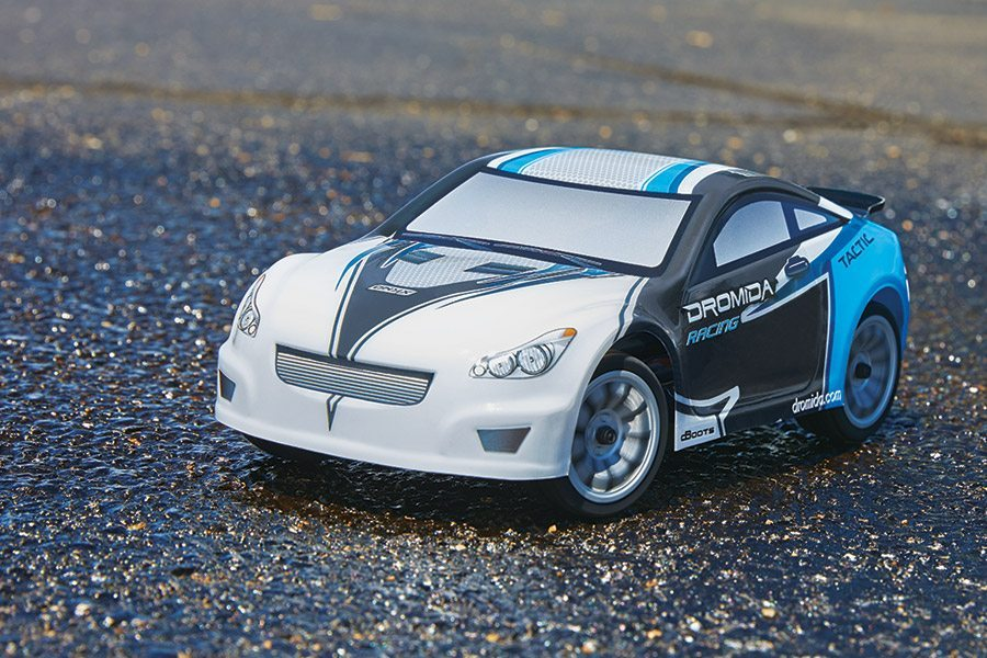 Dromida's 1/18 Touring Cars with Brushed and Brushless Power