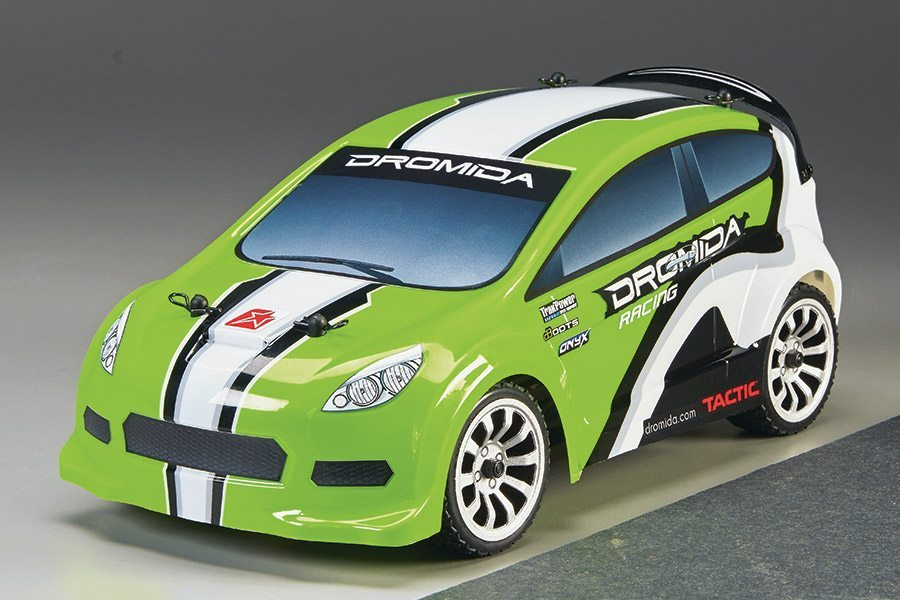 Dromida's Latest 1/18 Rally Cars feature Brushed and Brushless Power