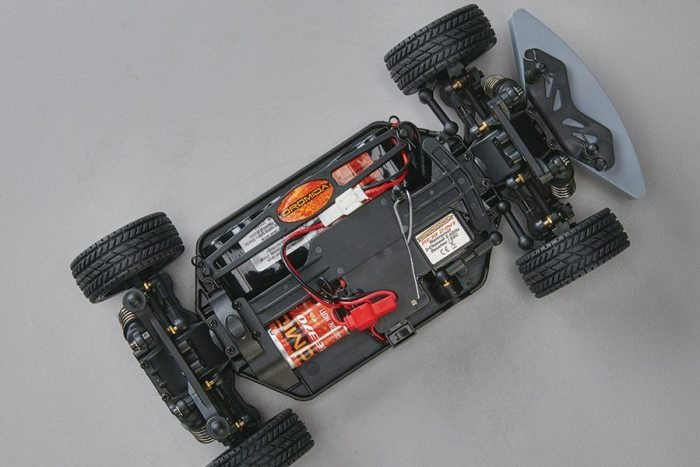 Dromida Small Scale Touring Car Chassis Top