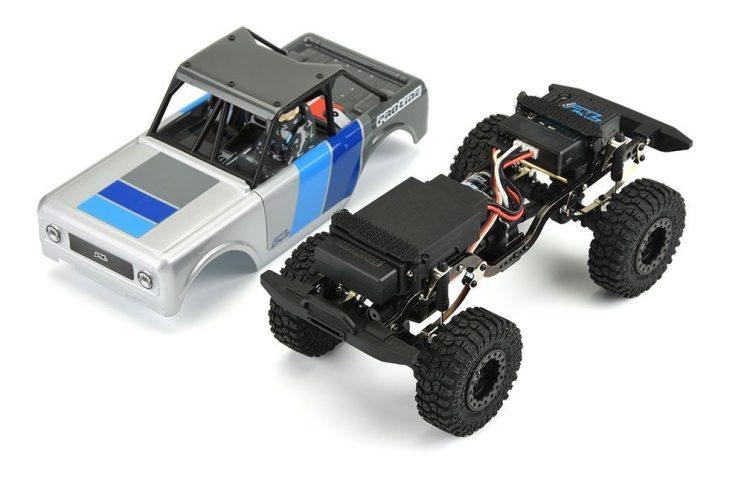 Pro-Line Ambush 1-25 4x4 Truck - Chassis