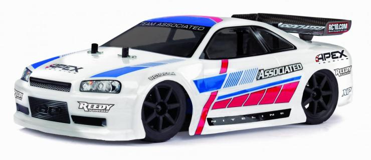 Team Associated Apex Touring Car (White)