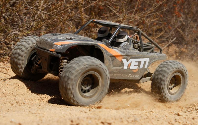 Axial's Yeti Jr: A 1/18-scale R/C Rock Racer