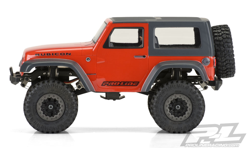 Pro-Line Ambush 4x4 Jeep Wrangler Rubicon Body - Side