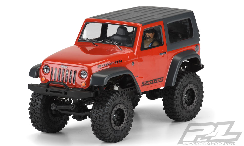 Pro-Line's Jeep Wrangler Rubicon Body Kit for the Ambush 4×4