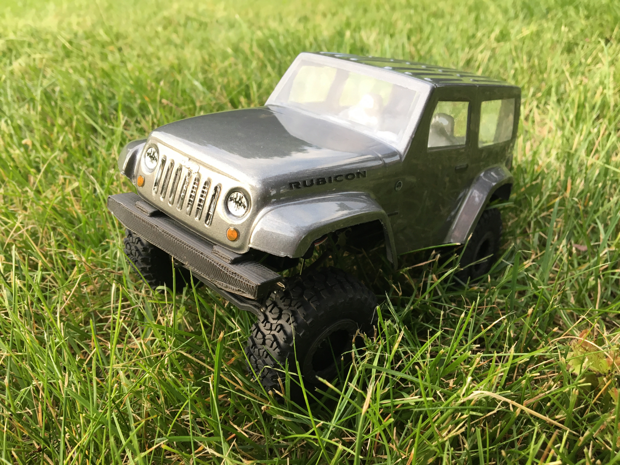 Pro-Line Jeep Wrangler body for the Ambush 4x4