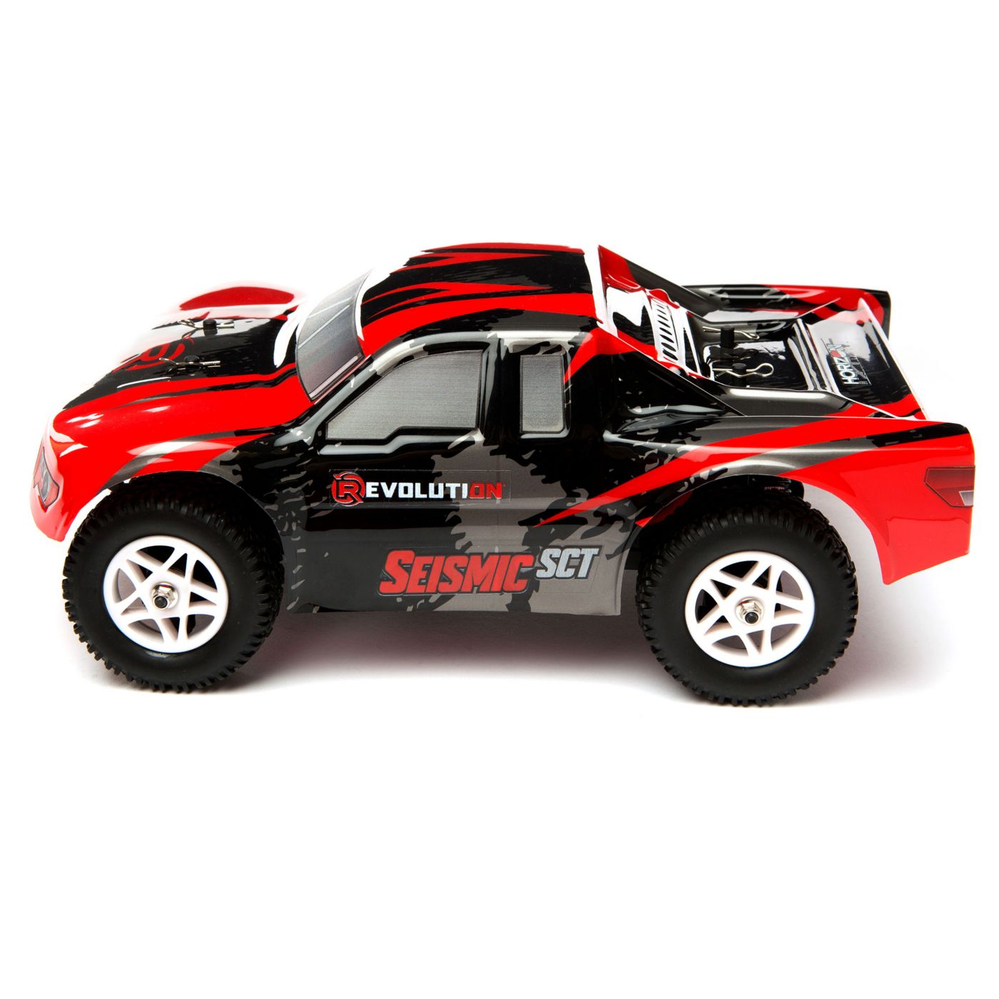 Revolution RC Seismic Short Course Truck - Side