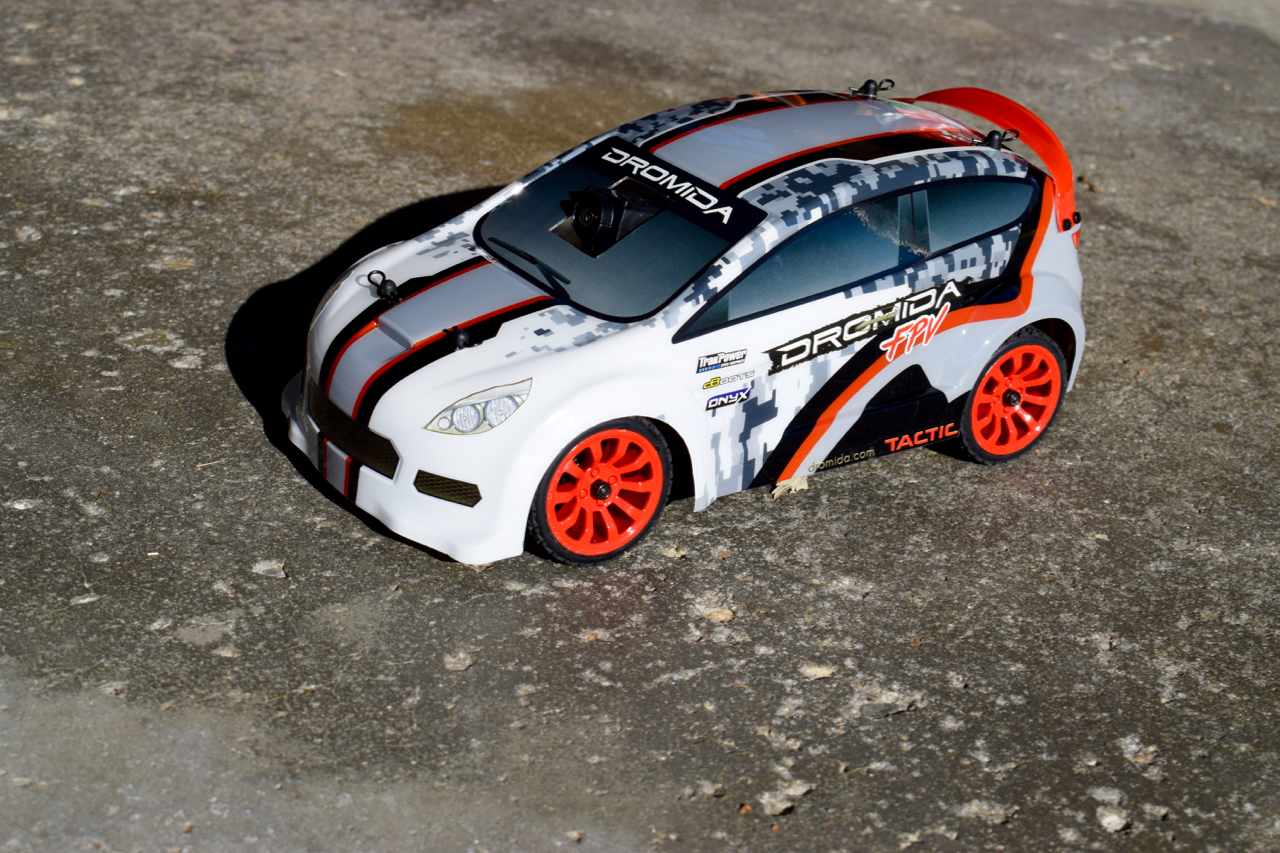 First Impressions: Dromida 1/18 FPV Rally Car