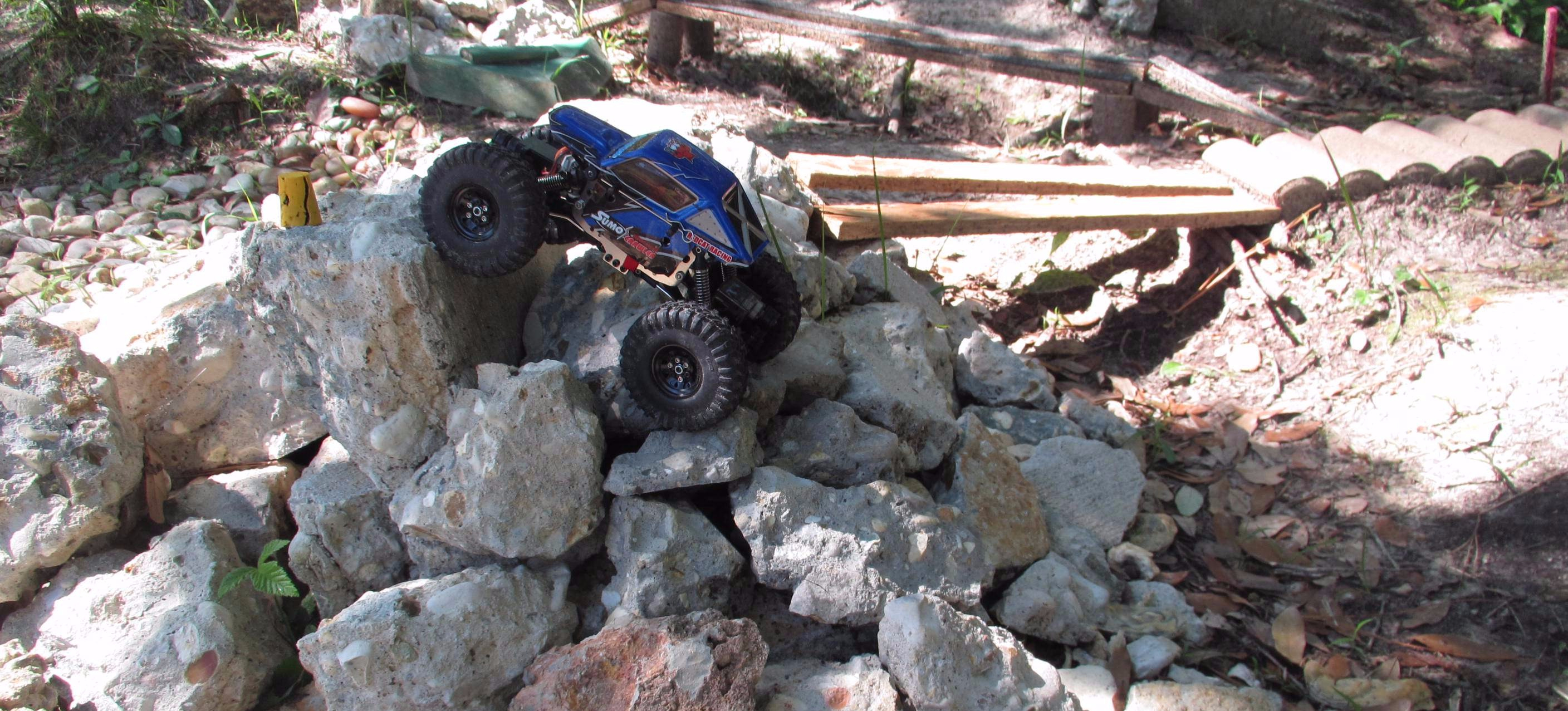 Built to Rock: A Custom, Small-Scale R/C Crawler Course! [Pics]
