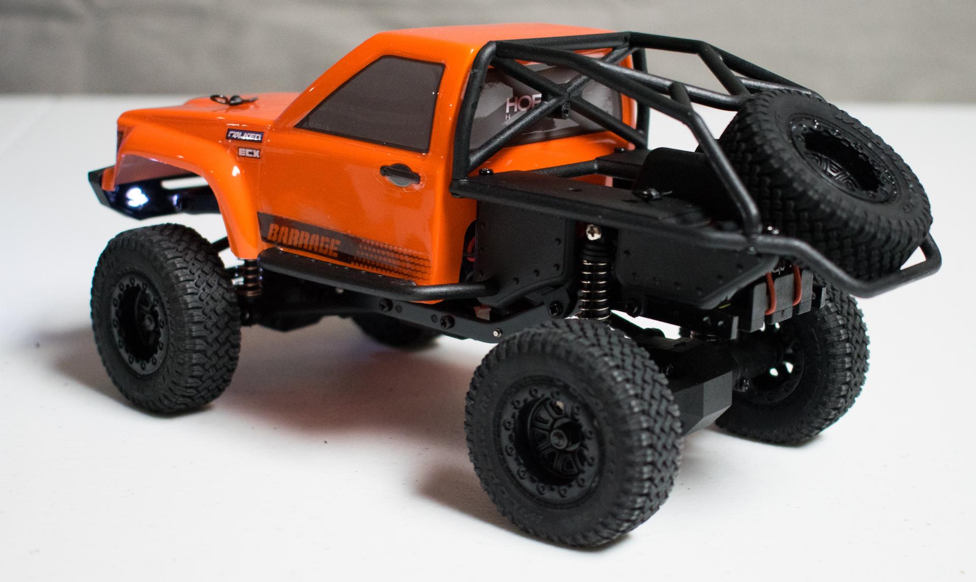 ECX Barrage 1-24 - Rear