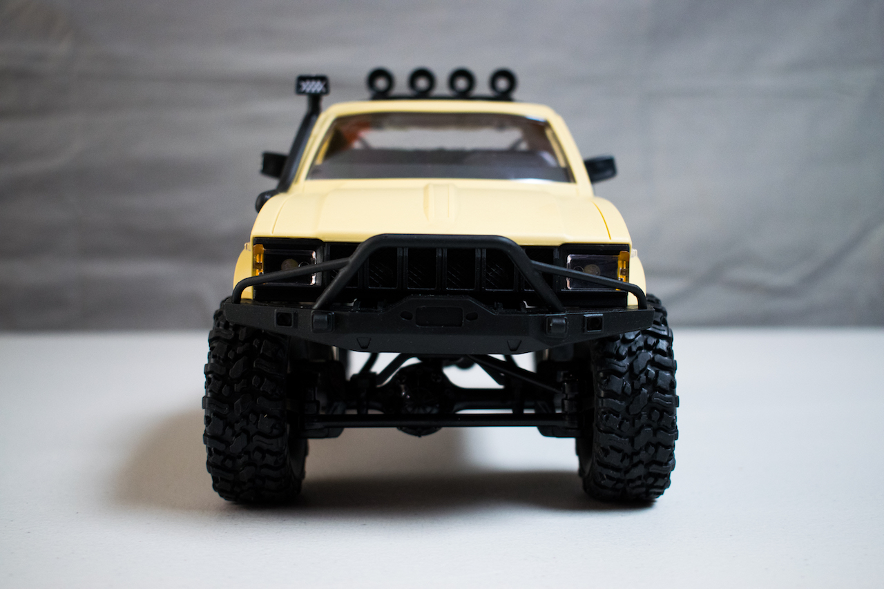 "First Impressions: WPL C14 ""Hercules"" 1/16-scale RTR Trail Truck"