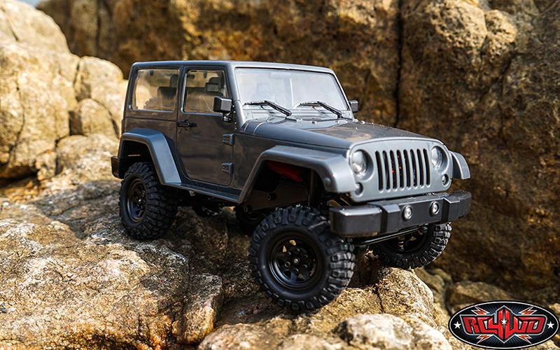 """RC4WD Gelande II """"Black Rock"""" 1/18 Scale Trail Rig"""