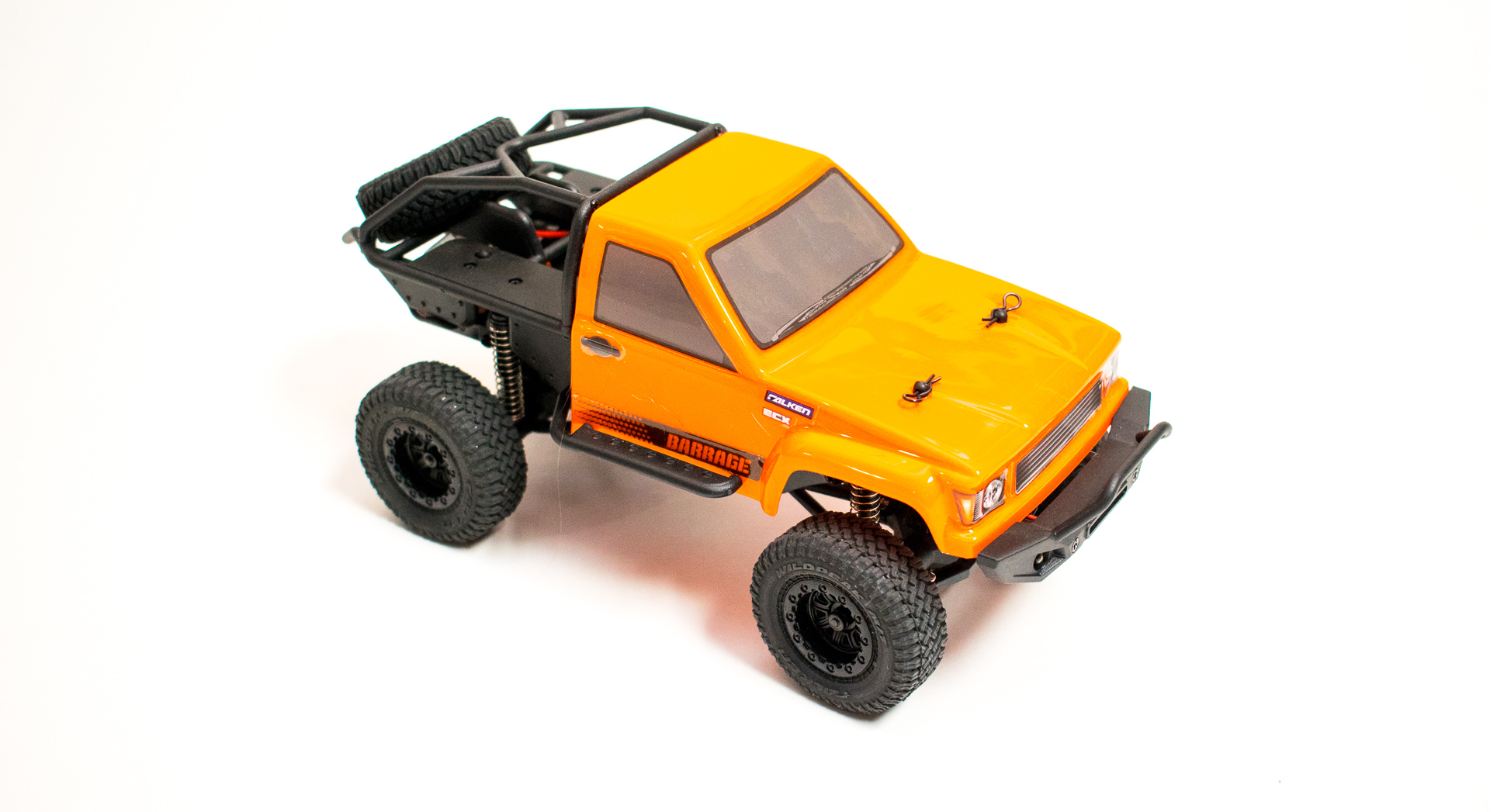 ECX Barrage 124 Front Up