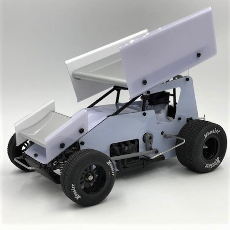 Hit the Track with 1RC Racing's 1/18-scale Radio-Controlled Sprint Car