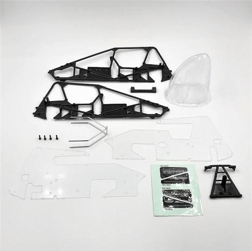 1RC Racing Silver Crown Conversion Kit - Parts