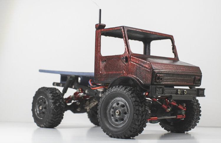 Create a Custom 1/18-scale Crawler with the UGR Platform from Ripper RC