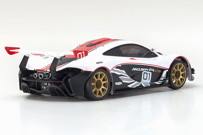 Kyosho McLaren P1 Mini-Z - Rear