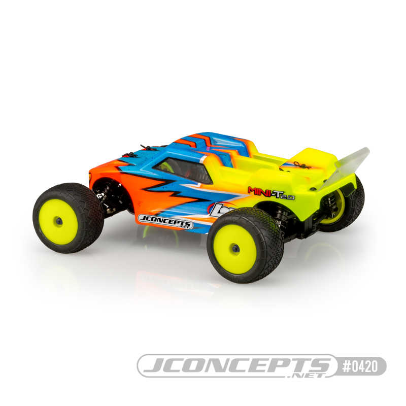 JConcepts Finnisher Body for the Losi Mini-T 2 - Rear