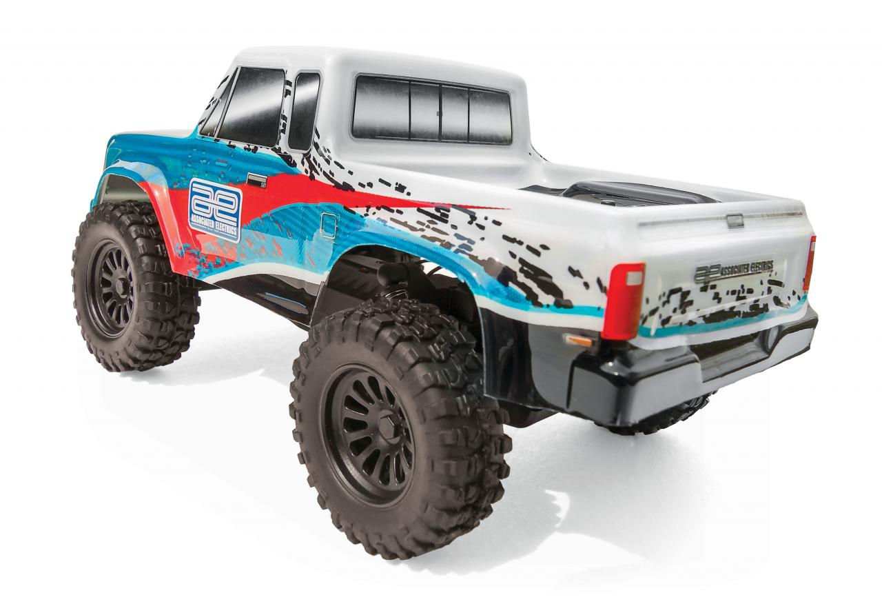 Team Associated CR28 Small-scale Trail Truck - Rear