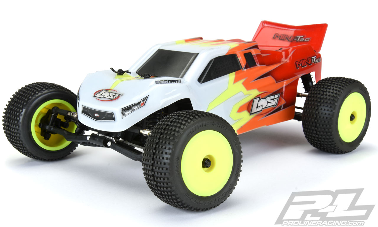 Pro-Line Hole Shot Off-Road Tires for the Losi Mini-T 2.0