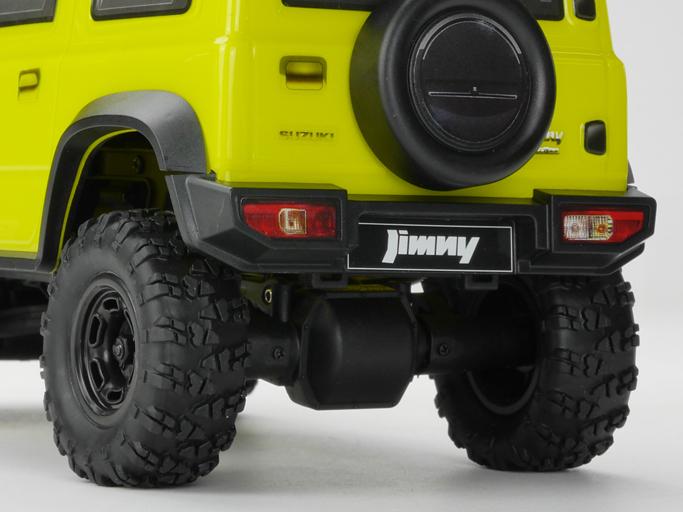 Carisma Scale Adventure 2020 Suzuki Jimny JB74 RTR - Rear Detail