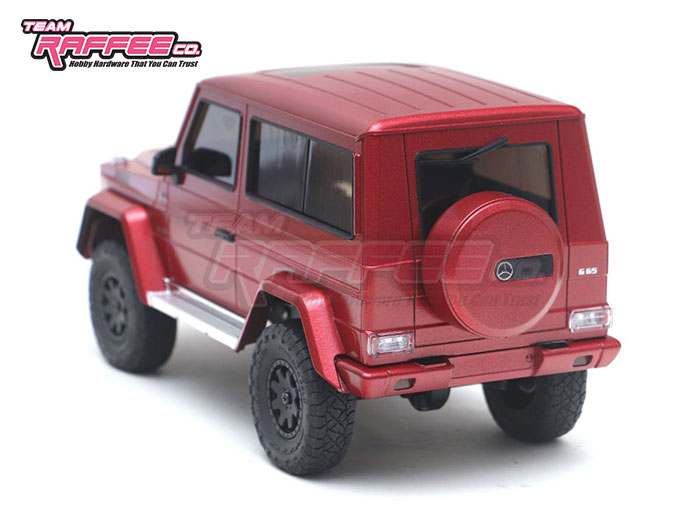 Team Raffee Co Benz G-Class Kyosho Mini-Z 4x4 Body - Rear