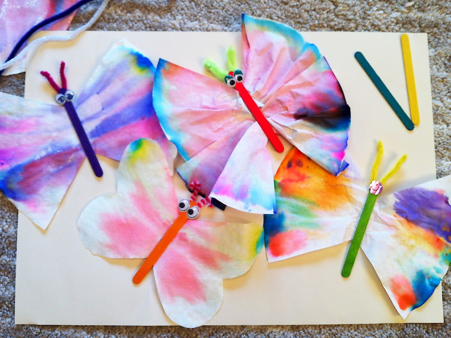 Chromatography Butterflies Small Science Club