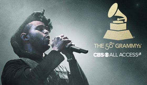 Grammys 2016 Live on CBS All Access