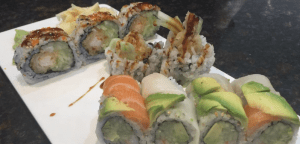 B.C. Roll and Spider Roll