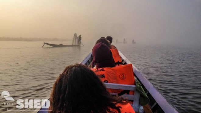 inle lake - pescatori -
